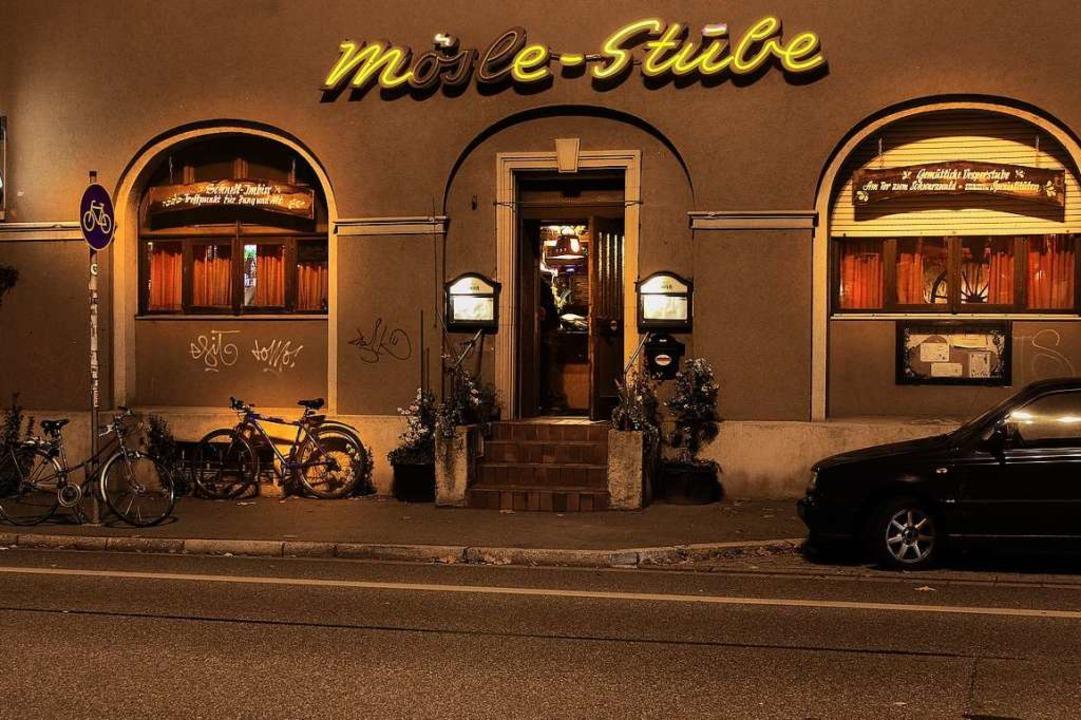 Die Mösle-Stube an der Schwarzwaldstraße öffnet am Freitag zum letzten Mal.  | Foto: Joachim Kuhni