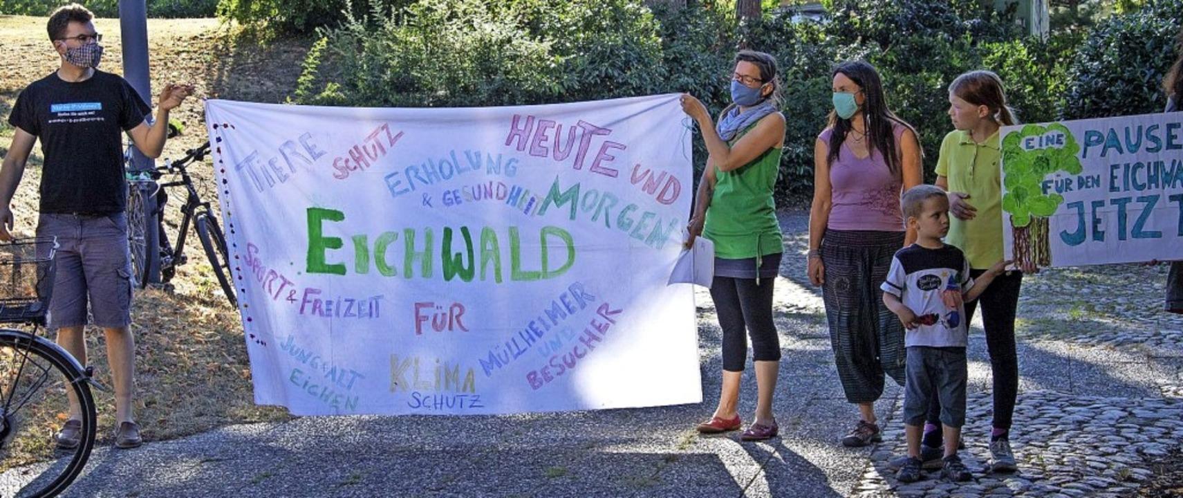 Eine (Fäll-)Pause für den Eichwald for...Gemeinderates indes nicht durchringen.    Foto: Volker Münch