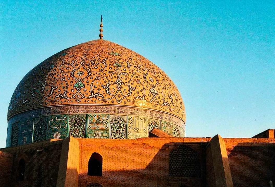 Die Kuppel der Lotfollah-Moschee am zentralen Platz in Isfahan  | Foto: Margrit Heyn