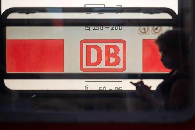 Die Deutsche Bahn fährt tiefrot durch die Corona-Krise
