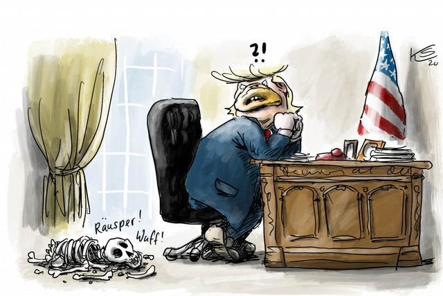 Die republikanische Partei meldet sich zu Wort . . .
