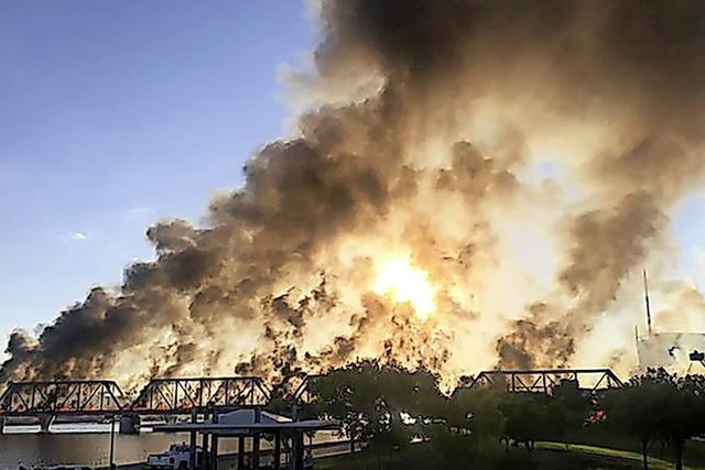 Suche nach der Unfallursache auf historischer Zugbrücke