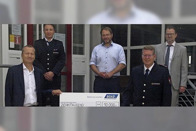 10 000 Euro für die Feuerwehr