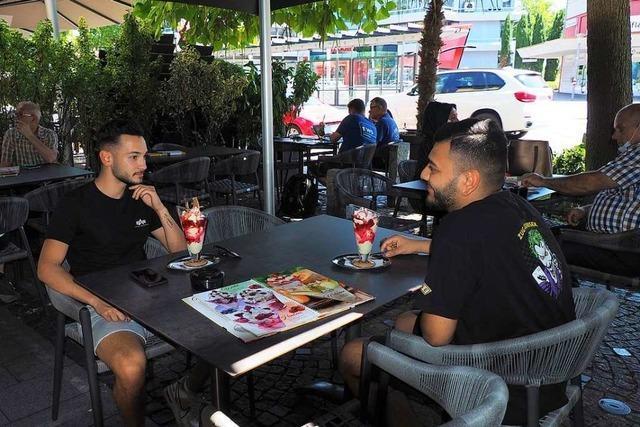 Händler und Gastronomen fremdeln noch mit der Weiler Pop-up-Fußgängerzone