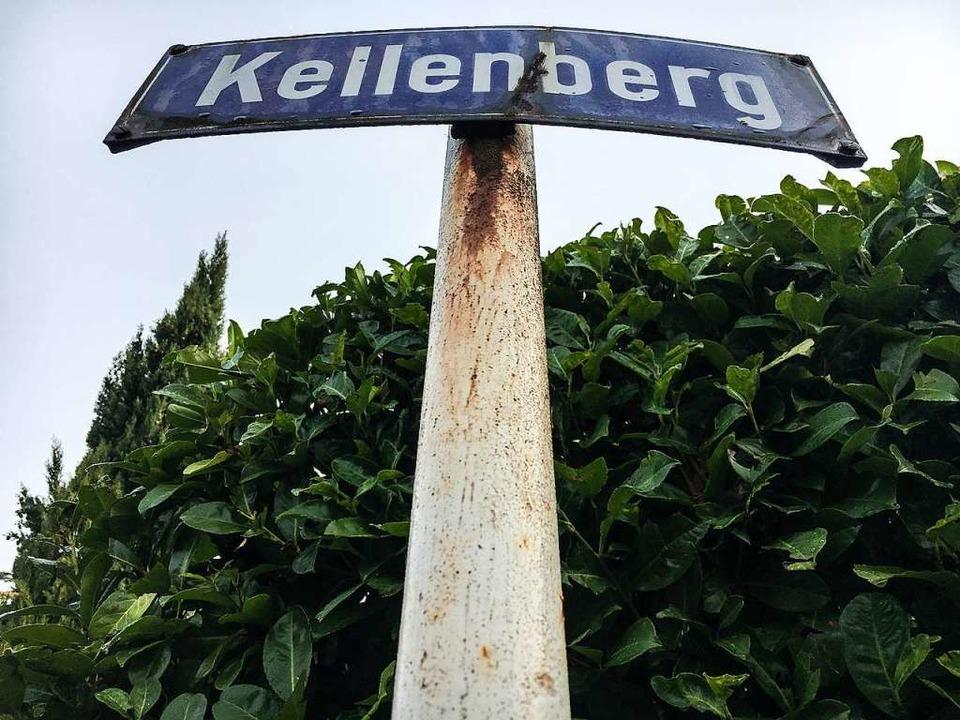 Um eine Baulücke auf dem Kellenberg gibt es seit Jahren Streit.  | Foto: Patrik Müller
