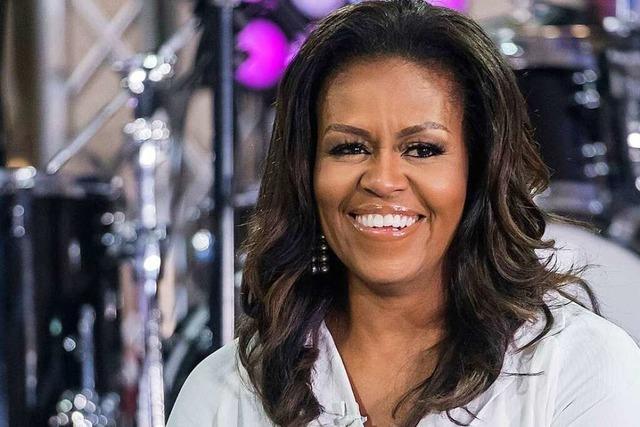 Michelle Obama mischt sich mit neuem Podcast in den Wahlkampf ein