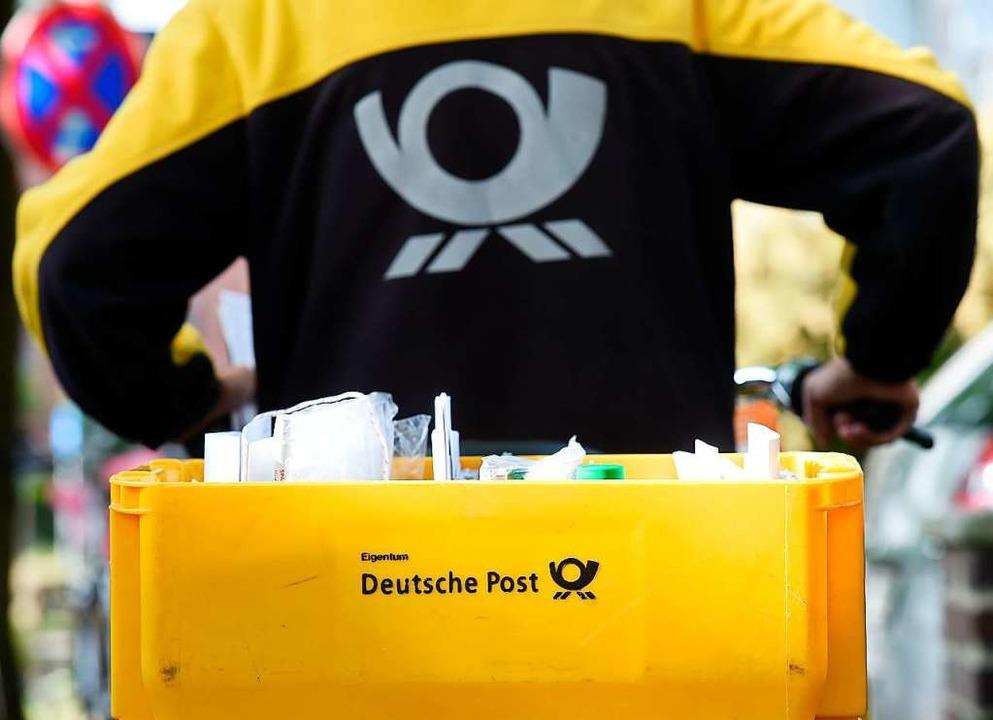 Die neue Postfiliale (Symbolfoto) in Steinen öffnet am Montag, 17. August.  | Foto: Holger Hollemann