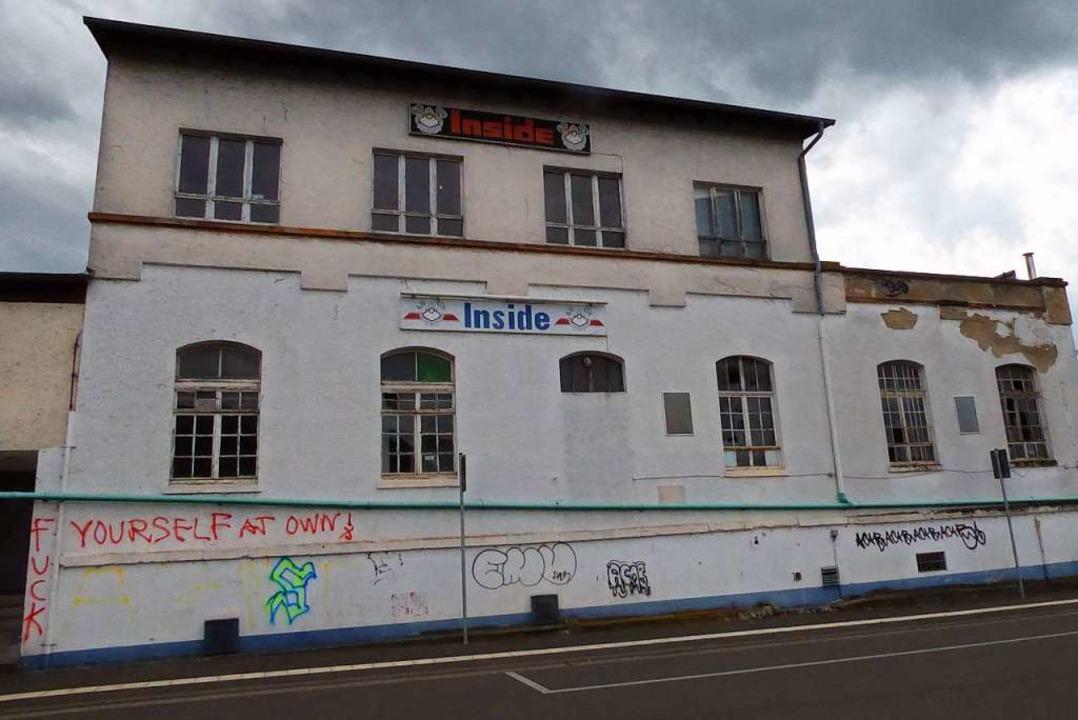 In diesem Gebäude befand sich früher die Diskothek Inside.  | Foto: Sylvia-Karina Jahn