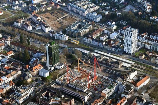 Die BZ zeigt die Brennpunkte der Stadtentwicklung in Lörrach