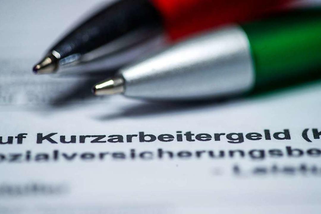 Dank der Kurzarbeit konnten viele Arbeitsplätze gesichert werden.    Foto: Jens Büttner (dpa)