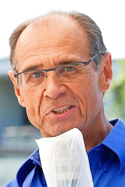 Walter Mack, Zweiter Vorsitzender des ...ormalem Fahrplan gefahren werden kann.  | Foto: Frank Schoch