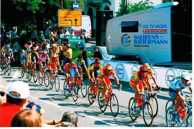 Der Tag, als die Tour de France nach Rheinfelden kam