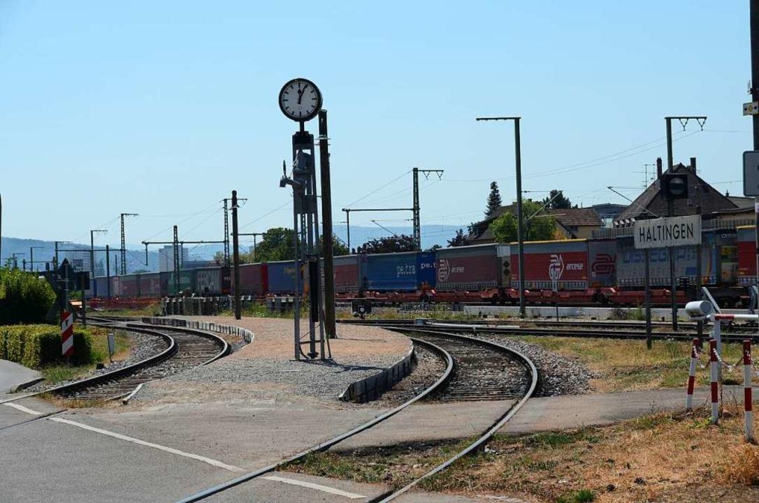 Hier könnte eine mögliche Kandertal-S-Bahn durchfahren.    Foto: Moritz Lehmann