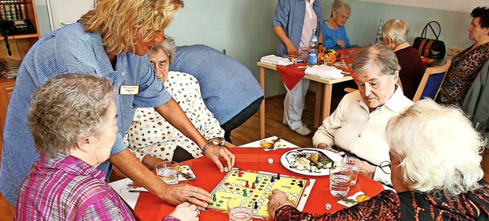 In der neuen Ortsmitte in Wieslet könn...ne Tagespflege für Senioren entstehen.    Foto: A2931 Bernd Weißbrod