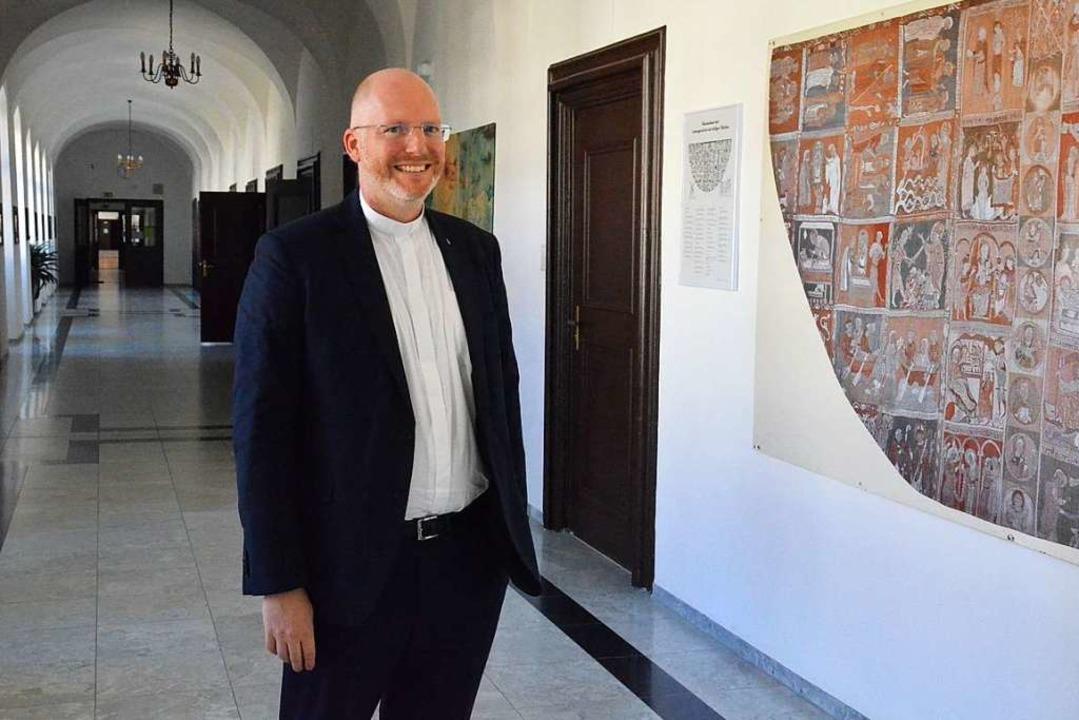Pater Hans-Martin Rieder ist der neue Kollegsdirektor.  | Foto: Sebastian Barthmes
