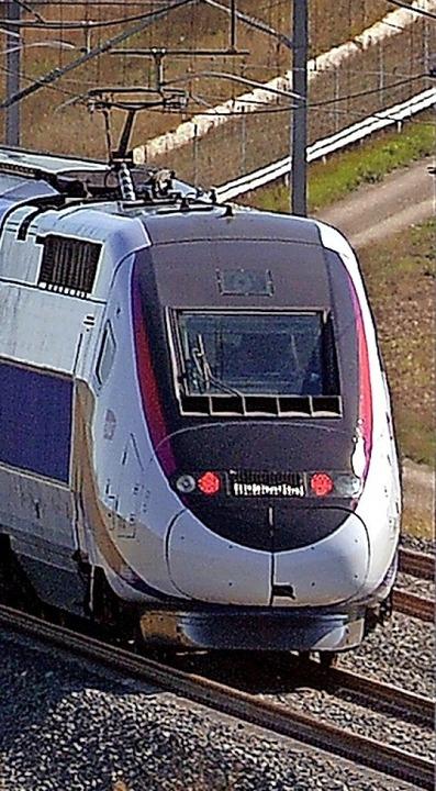 Aushängeschild von Alstom ist der TGV.   | Foto: PATRICK HERTZOG