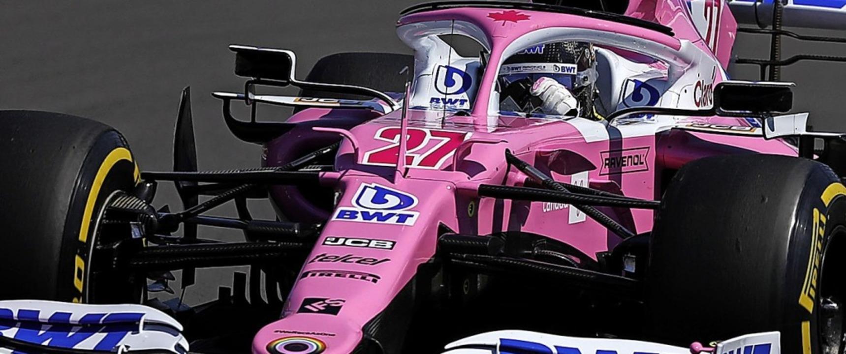 Nico Hülkenberg am Steuer des Racing-Point-Boliden  | Foto: Frank Augstein (dpa)