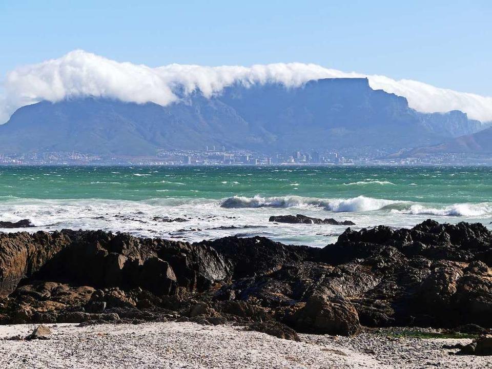 Bloubergstrand in Südafrika    Foto: Ulrike Ott