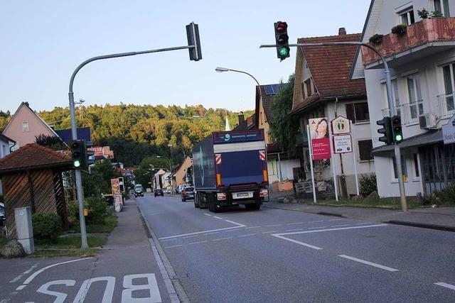 Auf der Bundesstraße in Schwörstadt gilt bald Tempo 30