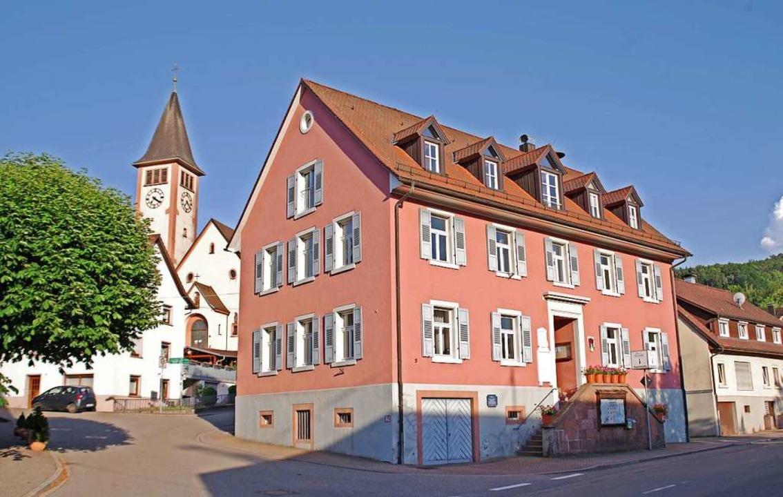 Das Rathaus in Dörlinbach − Amtssitz des Bürgermeisters  | Foto: Beate Zehnle-Lehmann