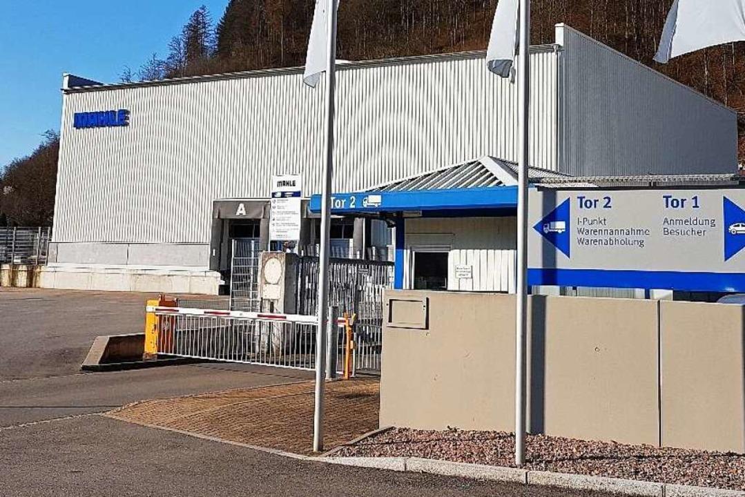 Das Firmengebäude von Mahle in Zell im Wiesental  | Foto: Gerald Nill