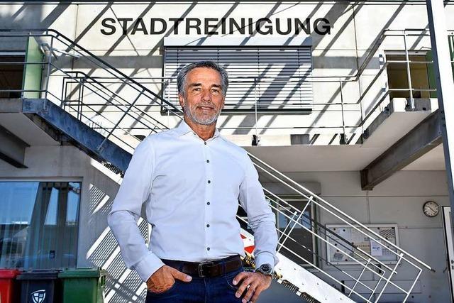 Chef der Freiburger Abfallbehörde zur Vermüllung der Stadt: