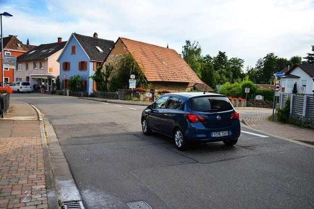 Bollschweiler enttäuscht, dass es keine Ampel während der Sperrung der Hexentalstraße gibt