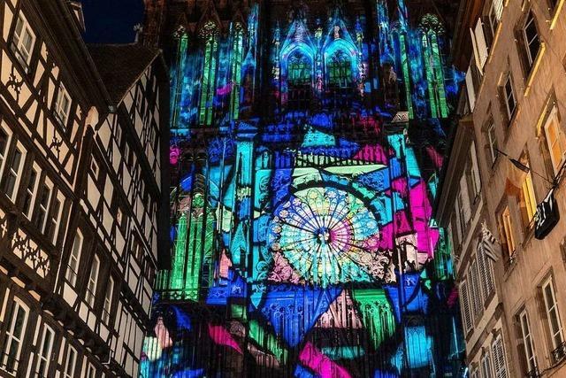 Ton- und Lichtspektakel am Straßburger Münster