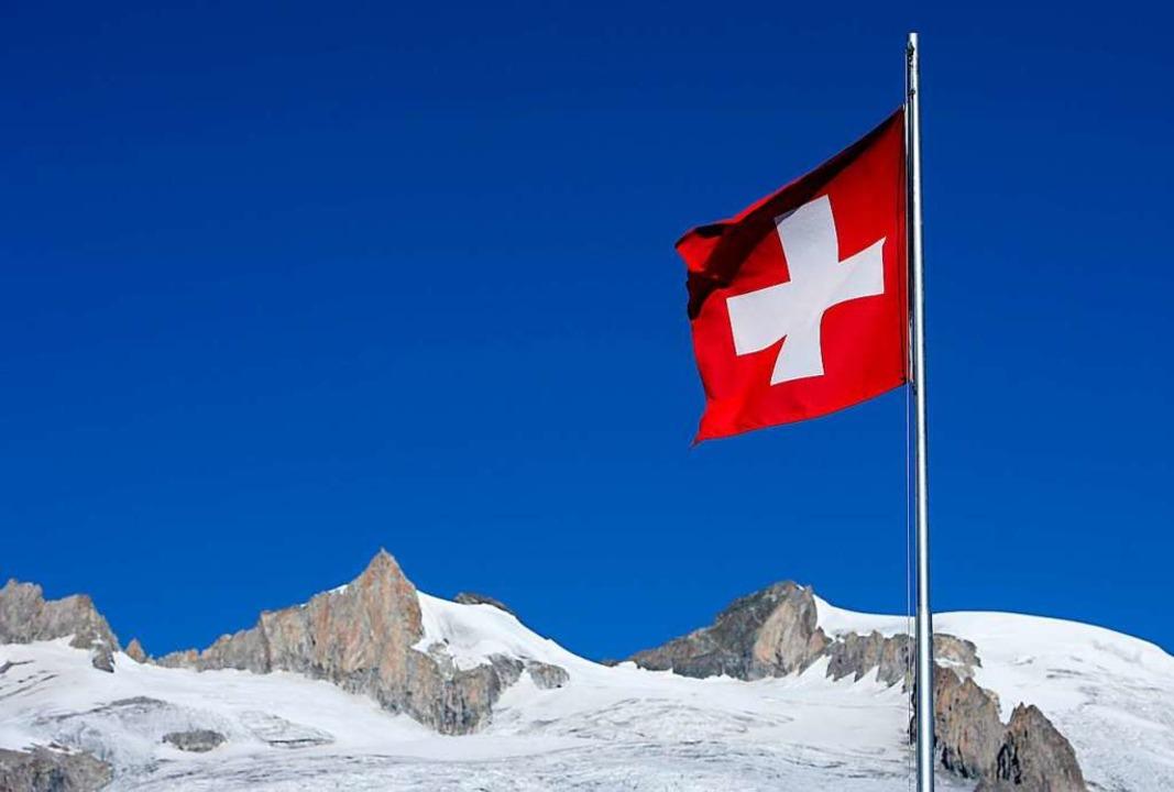 Am 1. August feiert die Alpenrepublik ihren Nationalfeiertag.  | Foto: Patrick Pleul