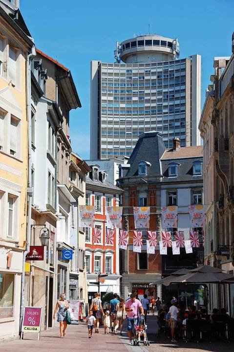 Wenig los ist im Zentrum  von Mulhouse.  | Foto: Bärbel Nückles