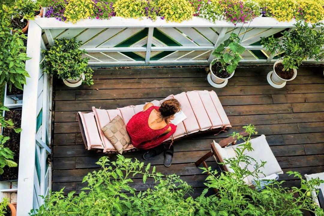 Wie sieht Ihr Urlaubs-Balkonparadies aus?  | Foto: ArTo  (stock.adobe.com)