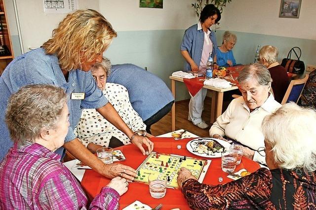In die neue Ortsmitte von Wieslet soll eine Tagespflege für Senioren kommen