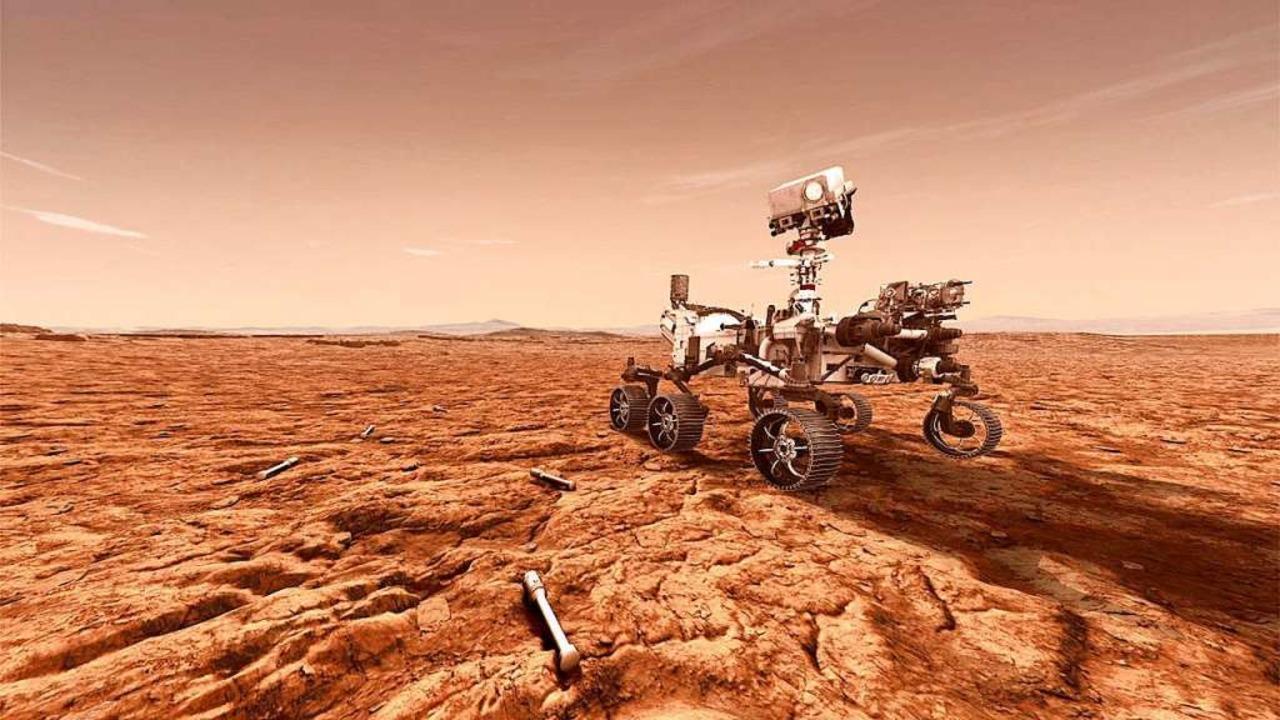 Diesen Rover wollen die USA auf den Mars bringen.  | Foto: Tony Greicius (NASA)