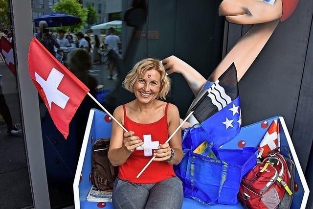 Schweizer Feiertag bringt viele Kunden