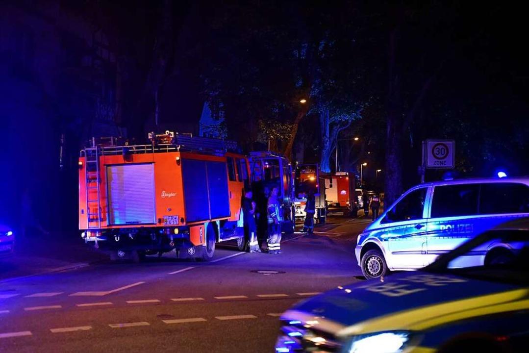 Weil die Rettungskräfte schnell vor Or...ei Günterstal schnell unter Kontrolle.  | Foto: Thomas Kunz