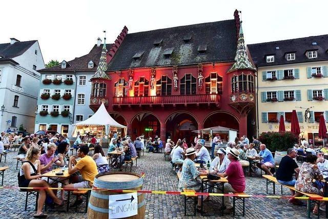 Wie war's bei … der Freiburger Weinkost auf dem Münsterplatz?