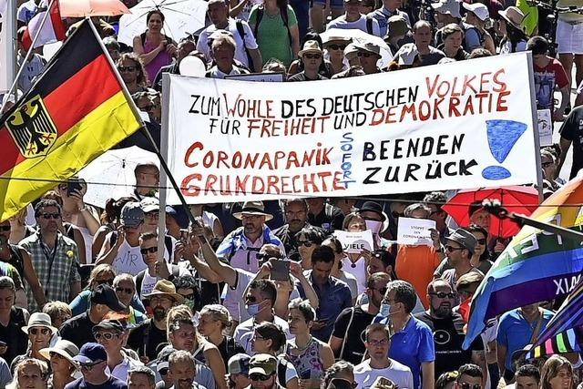 Protest ohne Abstand