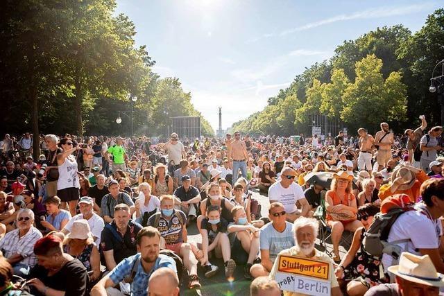 Es sind die Rücksichtslosen, die in Berlin demonstriert haben