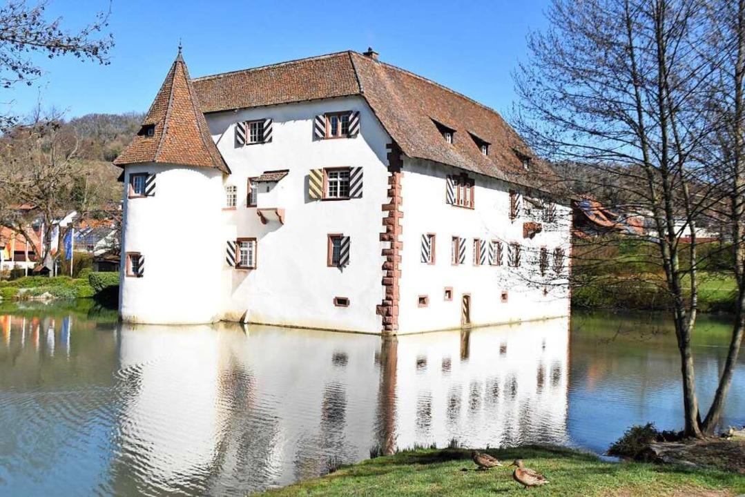 Das Inzlinger Wasserschloss.  | Foto: Maja Tolsdorf