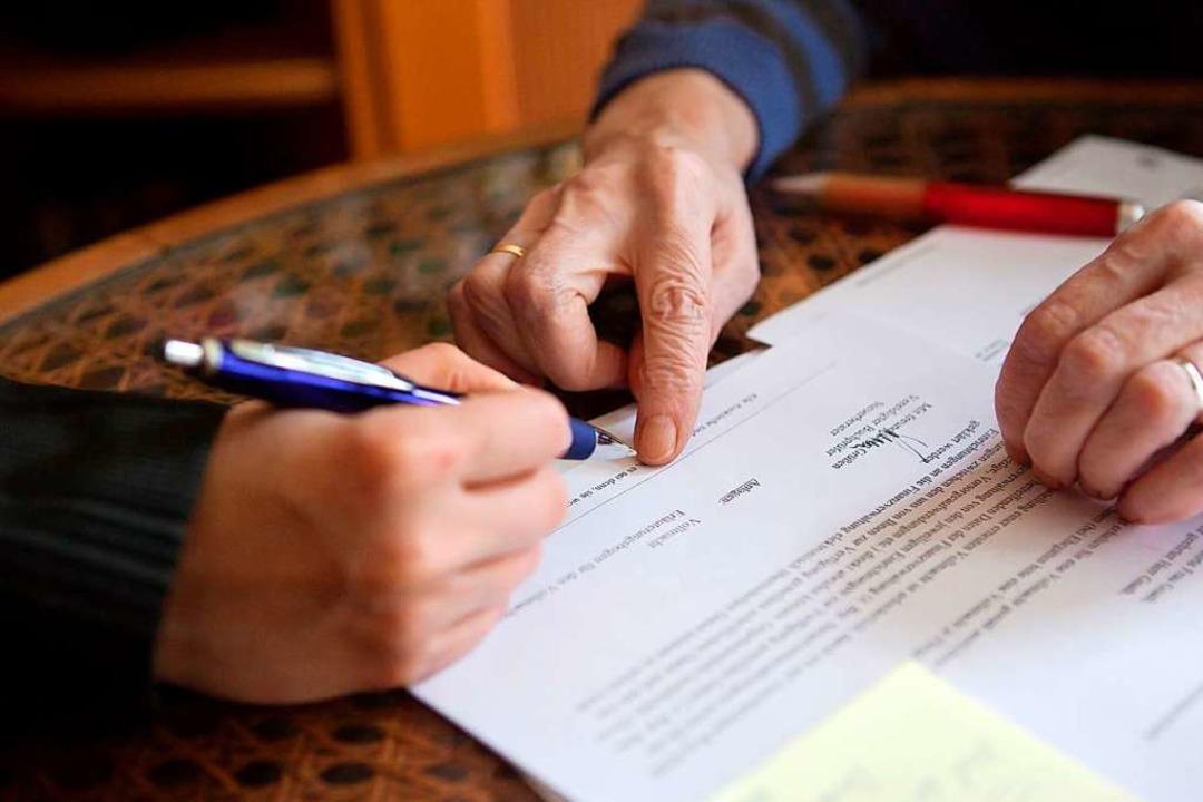 as Spektrum ist breit: Suchtprobleme, ...rechtliche Betreuung angewiesen waren.  | Foto: Silvia Marks