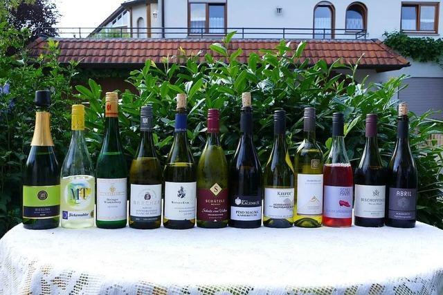 Live-Übertragung: Die erste Online-Wein-Fass-Bar der Badischen Zeitung