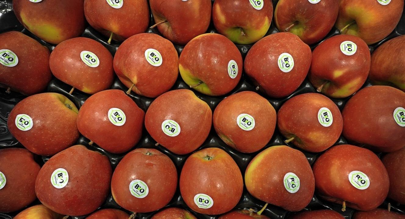 Bioäpfel sind gefragt.   | Foto: David Ebener
