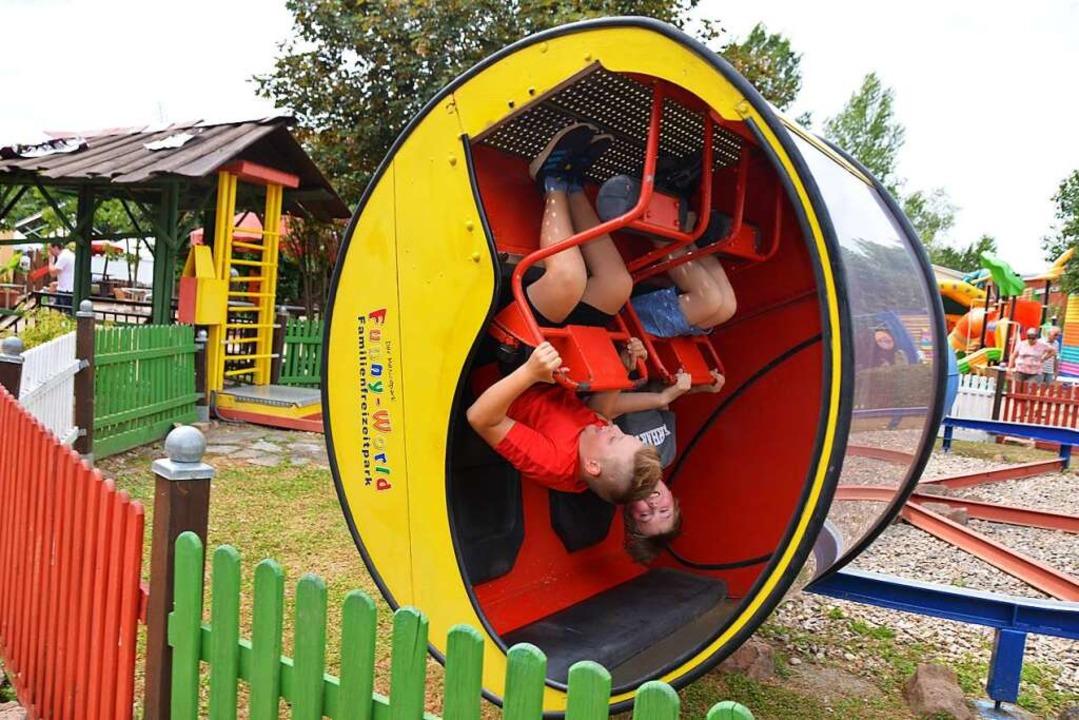 So macht Durchdrehen Spaß!  | Foto: Anita Fertl