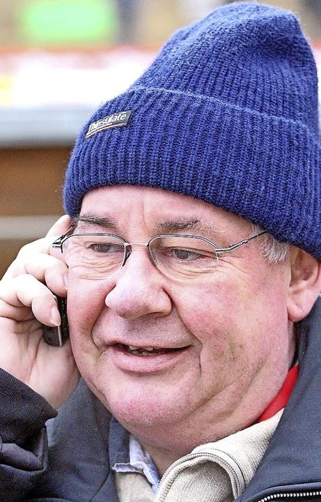 Skisport-begeisterter Bürgermeister: Hans-Georg Schmidt   | Foto: Joachim Hahne