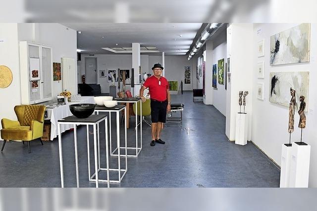 Die Galerie auf Zeit zeigt sich minimalistisch