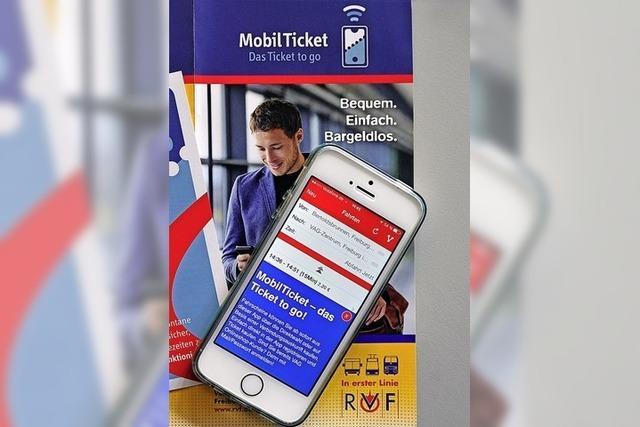 Rabatt für digitale Fahrscheine