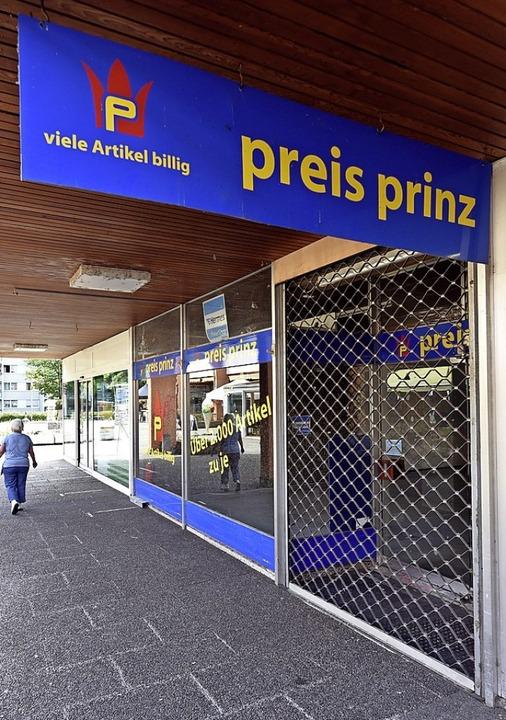 Bereits geschlossen hat unter anderem der Preis-Prinz.    Foto: Thomas Kunz