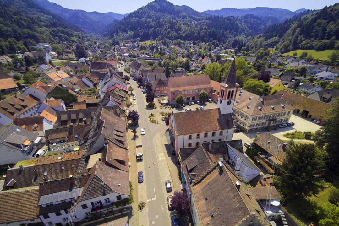 Schöne Grüße aus Sulzburg    Foto: Michael Saurer