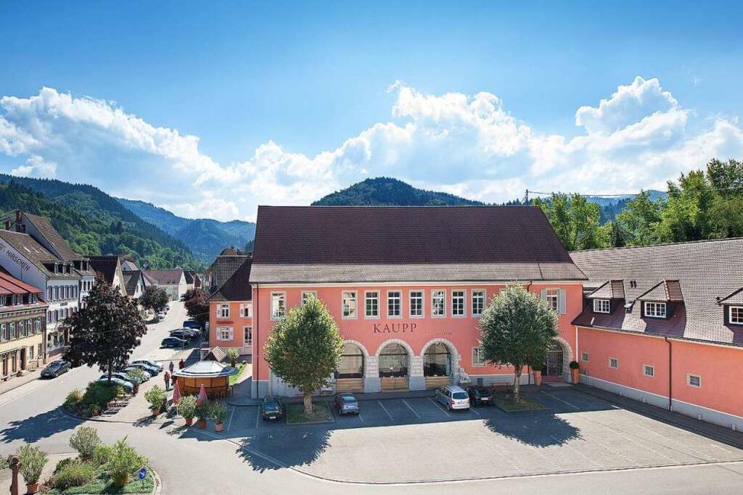 Sulzburgs beste Selfie-Kulisse: das Auktionshaus Kaupp.    Foto: Promo