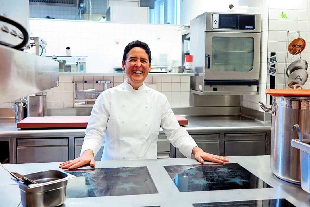 Kocht im Sulzburger Hirschen: Douce Steiner.    Foto: Nicole Jankowski